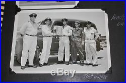 1950's OXNARD A. F. B. United States Air Force base Photo Album TRANSPORTATION SQD