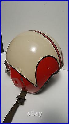 1957 GENTEX US Navy AIR FORCE Jet fighter pilots helmet USAF War Squadron Korean