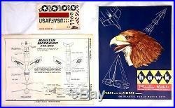 1958 Hawk Martin Matador Missile Launcher Model Kit USAF TM-61 Complete Catalog