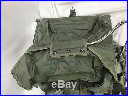 1958 US Air Force Pilots Parachute Flight Harness