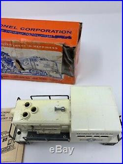 1962 Original Postwar Lionel 59 Minuteman USAF Diesel Husky Switcher Air Force