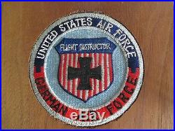 1967 UNITED STATE AIR FORCE FLIGHT INSTRUCTOR GAF PATCHES/AWARD