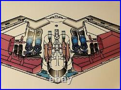 1980s B-2 STEALTH BOMBER SIGNED PRINT NORTHROP GRUMMAN TEST PILOT STALEY USAF