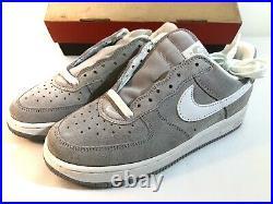 1998 Vintage Nike Air Force 1 SC Suede Zen Gray W6.5 5Y