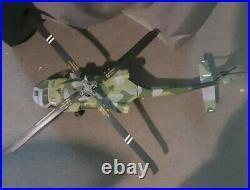 1/18 Scale BBI Elite Force USAF-HH60 Black Hawk Helicopter