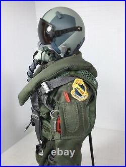 1/6 Dragon Usaf F-15 / F-117 Modern Fighter Pilot +stand & Bag DID Bbi Rc 21