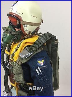 1/6 Usaf Bbi Korean War F-86 Sabre Fighter Pilot Parachute Rc Dragon DID 21 Ww2