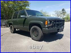 2000 Chevrolet Tahoe CUCV2 Former USAF SECURITY FORCES VEHICLE
