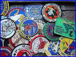 #2 -large Lot Of 100 Usaf Patches Check Out Pictures Usaf Patch Must See