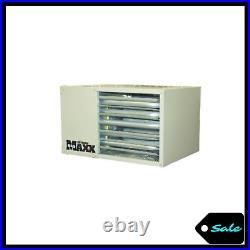 50000 BTU Forced Air Fan Propane Heater Spark Ignition Garage Barn Space Warmer