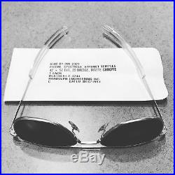 52mm Vintage Randolph Engineering Aviator air force Sunglasses Bayonet temples