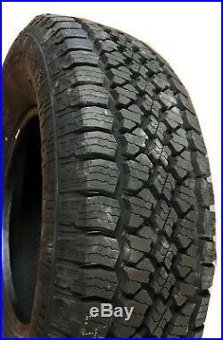 6 New Tires 245 75 17 Advanta All Terrain 10Ply Dually 50K Mile LT245/75R17 USAF