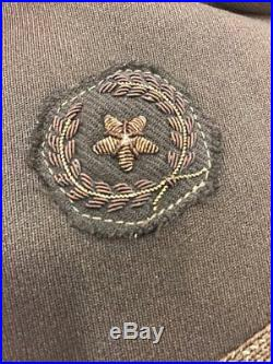 6th Air Force / MAAF Bullion Officers cutdown uniform -Named Weather Service