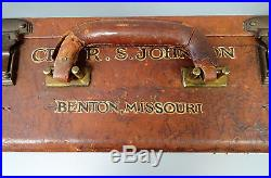 8th AIR FORCE 56TH FIGHTER GROUP VINTAGE HAND PAINTED LUGGAGE