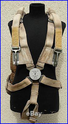 8th Air Force Parachute Harness Observer Type RAF ww2