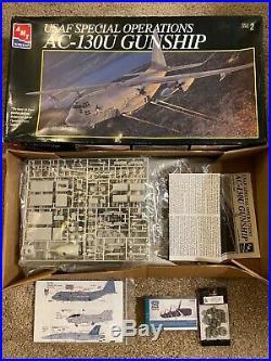 AMT ERTL 1/72 USAF SPECIAL OPERATIONS AC-130U GUNSHIP WithExtras