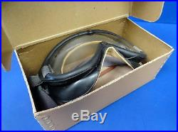 ARMY AIR FORCES B-8 FLYING GOGGLES WithBOX & ACCESSORIES-UNUSED