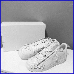Acronym X Nike Lunar Air Force 1 Af1 Low White Af100 Aj6247-100 Size 10.5