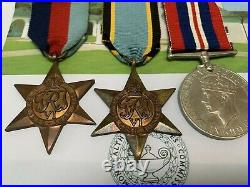 Air Crew Europe Star Casualty Medal Group RAF 217 Squadron Beaufort RAFVR