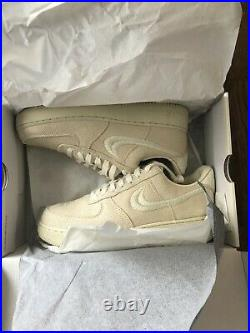 Air Force 1 Low Stussy Fossil Size 9
