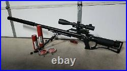 Airforce TEXAN. 357 Carbine PCP Air Rifle with Extras