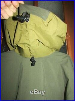 Arcteryx Alpha-sv Jacket Old Gen Gore-tex Xcr Made In Canada Java Usaf Mens XL