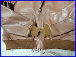Army Air Forces Type A-2 Flying Jacket- Size 44