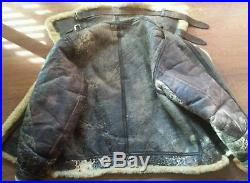 Authentic Army Air Force Flight Bomber B-3 Jacket HLB Corp, 40 Regular