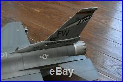 BBI ELITE Force F-16 USAF Fort Wayne Jet Scale 1/18 RARE