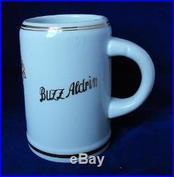 BUZZ ALDRIN Air Force REGIMENTAL STEIN 22nd FIGHTER SQUAD. BITBURG AB 1956-59
