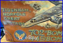 B-24 Liberator King Kong Leather Luggage Piece 8th Air Force
