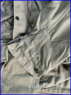 Belgian Army 1950's Para Smock RARE OG Denison Cut Heavy Canvas 42-44 chest