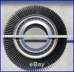 Boeing B-52 Jet Engine Disk J-57 Turbine Blade Desk Model U-2 Fan Art Table USAF