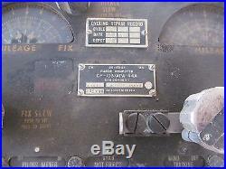 CP-103/APA-44A Bomber Range Computer B-45 Tornado USAF FOR DISPLAY ONLY