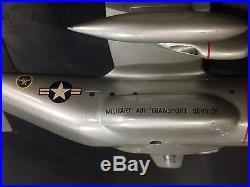 C-130 Hercules Airplane Model Metal Verkuyl USAF MATS Lockheed e17