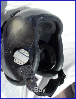 Cold War USAF USN Jet Fighter Pilot's Flight Helmet Type HGU-33/P With Tape