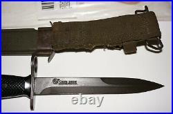 Colt M7 Bayonet 62316 Original Vietnam Usaf Marines Army Navy & Usgi Nos Late M7