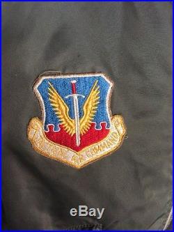 Cool Vietnam USAF MA-1 FLIGHT JACKET US Air Force Mil. Alpha Medium NICE