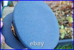 Early WW2 RAF officer peak cap good size