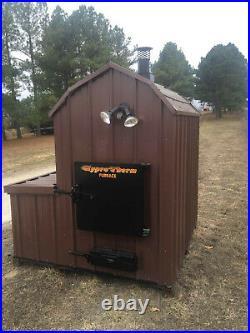 FLFA-4000 Thermowind TW4000 BIG WaterLess Wood Outdoor Burner Furnace Forced Air