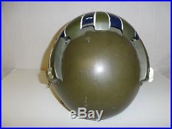 Fl-9 Vietnam era USAF Flight Helmet original unit 481 double visor 68 IR23T