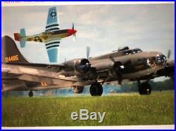 Franklin Mint 148 B17 Memphis Belle USAF Daylight Heavy Bomber