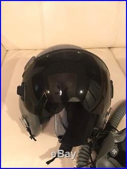 GENTEX FIGHTER PILOT FLIGHT HELMET nice and clean