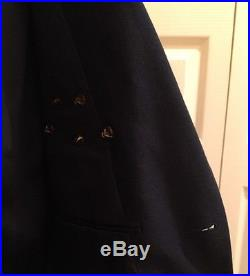 Genuine Usaf Us Air Force Men's Service Dress Navy Blue Coat Jacket Size 41l