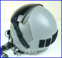Gentex HGU-55/P Flight Helmet With MBU-12 Mask & Smoke Lens Size Large USAF USN