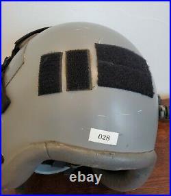 Gentex HGU-55/P Flight Helmet With MBU-12 Mask & Smoke Lens USAF USN
