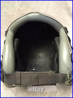 Gentex HGU 55 Pilot Flight Helmet size LARGE USAF