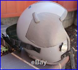 Gentex HGU-55 USAF Air Force Flight Helmet Oxygen Mask Visor Soft Case Sz. LARGE