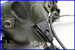 Gentex Scott HGU MBU-12/p Pilot Flight Helmet Oxygen mask USAF