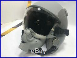 Gentex USAF Pilot's HGU-55/P Flight Helmet, Clear Shield with Oxy Shell